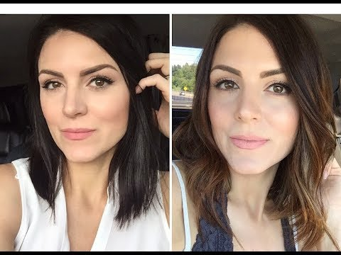 DIY: BALAYAGE HIGHLIGHTS | Brunette Beauty Blogger