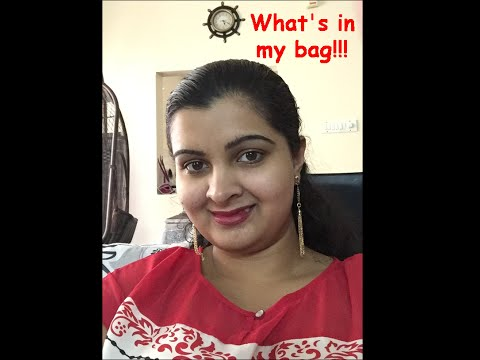 WHAT'S IN MY HANDBAG | Handbag Organization | Aldo Workbag