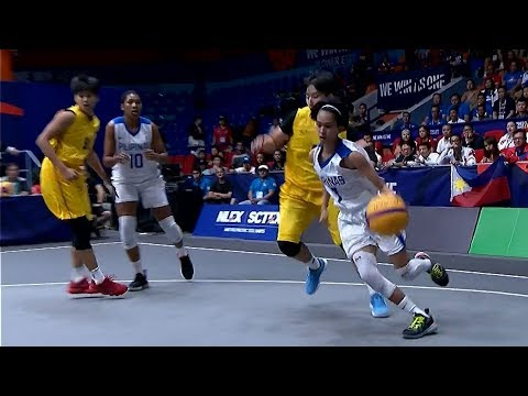 Finals Highlights Philippines Vs Thailand 3X3 Basketball W 2019 SEA Games