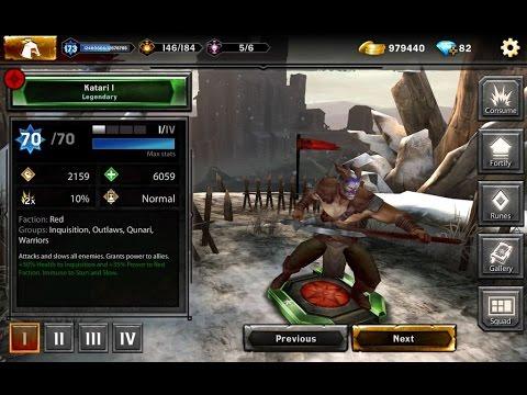 Heroes of Dragon Age   Grand Champion Pack #5 Katari