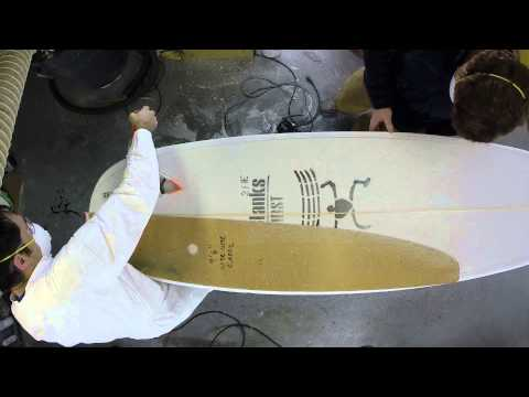 How to Cut the Template of a Surfboard Using a Router