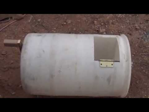 home made composting toilet Part#2