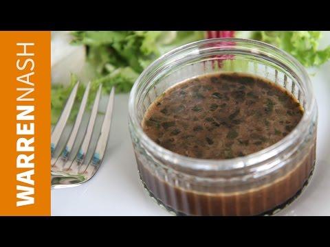 Balsamic Vinaigrette Recipe - Honey Based Dressing - Recipes by Warren Nash