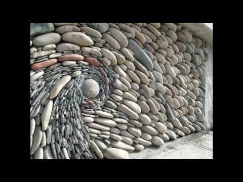 Awesome stone fence design
