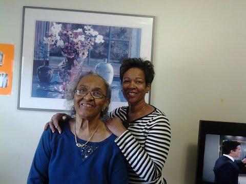 Millennial Caregiver and elderly mother