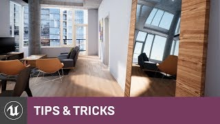 Reflections (Part 2) Planar Reflections & SSR | Tips & Tricks | Unreal Engine