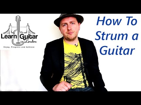 How To Strum a Guitar With a Pick For Beginners - 8 Top Tips - Drue James