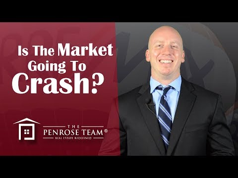 Is The Market Going To Crash? - Greater Phoenix Area Real Estate Agent