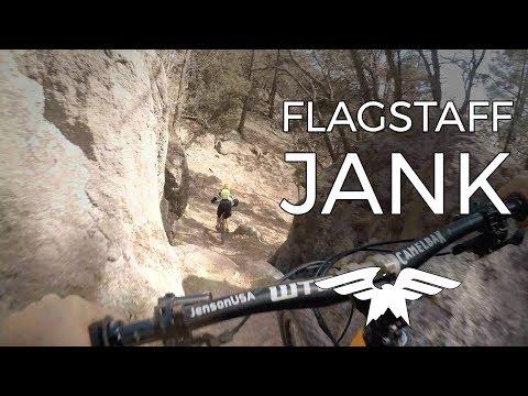Steep and Janky in Flagstaff  - Mountain Biking Flagstaff Arizona