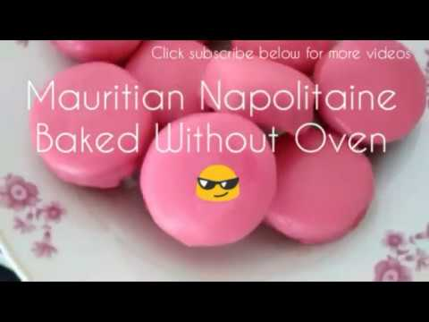 Mauritian Napolitaine Without Oven Recipe |Vegan|