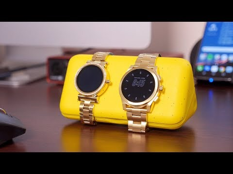 Michael Kors Access Sofie and Grayson review