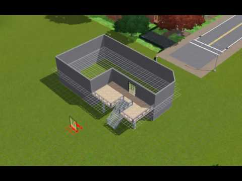 How to Make a Second Level the Main Level (Sims3).avi