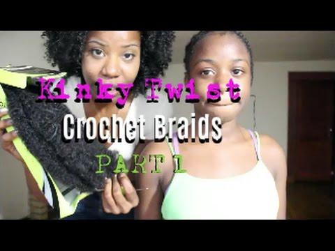 How to: Kinky Twist Crochet Braids PT.1 | TEEDAY6