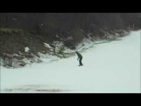 Snowboarder Crash