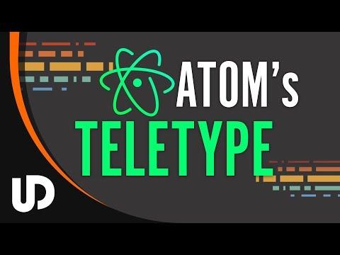 Mit Atom's Teletype gemeinsam in Echtzeit Code bearbeiten? [TUTORIAL]