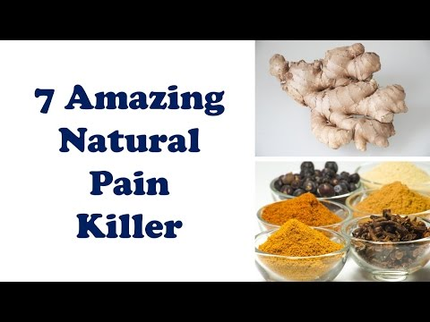 7 amazing natural pain killer that really works