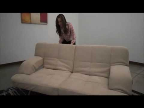 How to Position your Sleeper Sofa Bed Chaise Lounge Futon