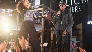 Alicia Keys & Jay Z - Empire State of Mind LIVE (HERE in Times Square) HIGH QUALITY 2016