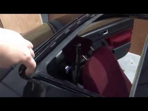 VW Sunroof water leak fix New Beetle Bug - Golf MK4 - Jetta Audi DIY