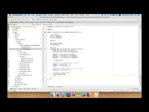 Solve simple Math Problem to Confirm Action in Android Studio