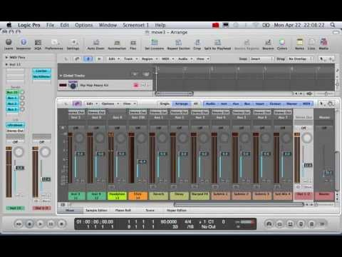 P1,How to make beats white logic,make music online,produce music software,make instrumentals online