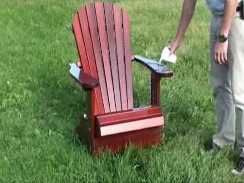 The Best Adirondack Chair Treatment Video