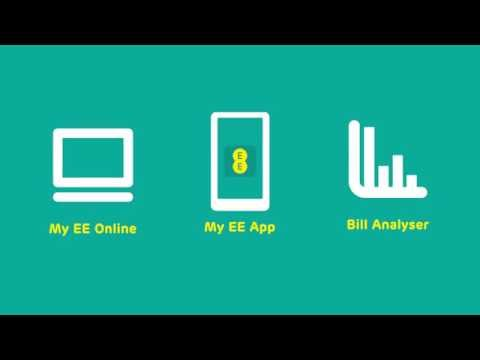 Stay in control of your expenses with My EE & Bill Analyser
