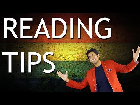 How to improve Reading Habits? (6 Reading Skills Tips)
