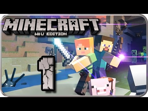 MINECRAFT Wii U EDITION Part 1: Das Craften auf der Wii U beginnt!