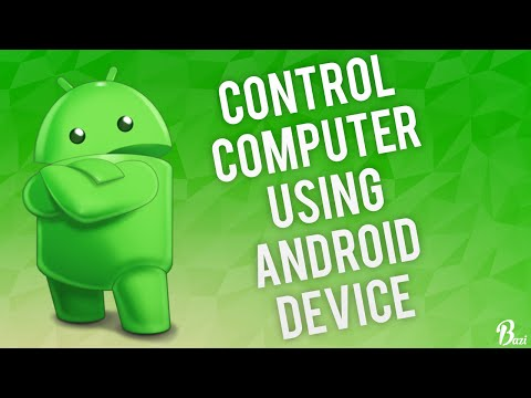 How To Control Your Computer Using an Android Device 2018!