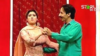 Best Of Iftikhar Thakur and Hina Shaheen New Pakistani Stage Drama Full Comedy Funny Clip