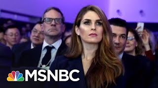 Lawrence: Hope Hicks Made Sean Spicer Look Competent   The Last Word   MSNBC