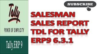 SalesMan Commission - Tally ERP9 Add-On - The Most Popular
