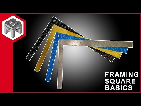 Framing Square Basics - How to use one