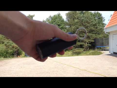 Home made pull ring grenade