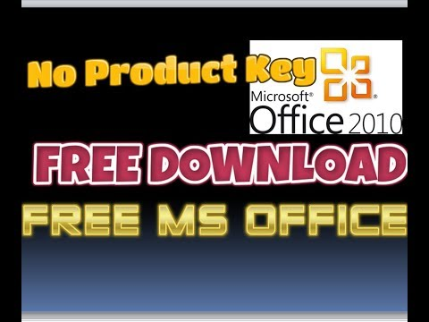 How to Download Fully Activated MS Office 2010 in Windows 10 for FREE