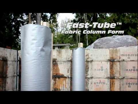 Fast-Tube™ Concrete Column Form - Sonotube Replacement