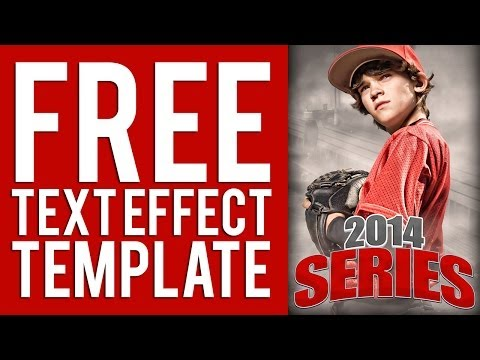 Free Photoshop Poster Effect Title Tutorial