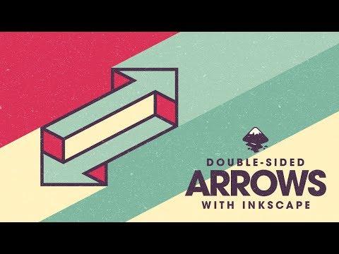 Inkscape Beginner Tutorial: Double-Sided Arrows