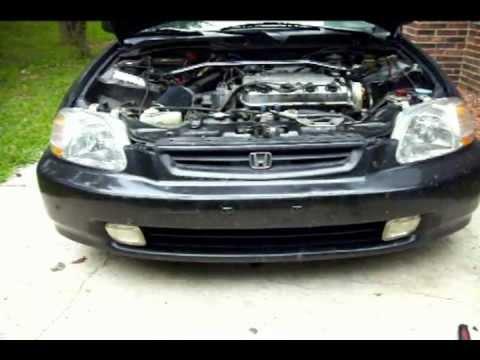 How to Remove Headlight Assembly Honda Civic