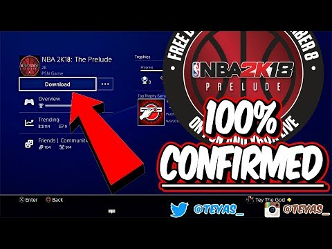 HOW TO DOWNLOAD NBA 2K18 EARLY!!! 100% WORKING PS4! WATCH THIS VIDEO!!!