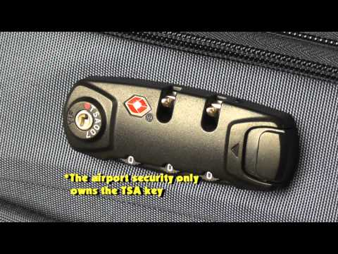 3 Steps on How to Set a TSA Combination Lock of Your Luggage