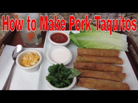 How to Make Pork Taquitos