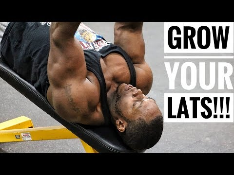 The Perfect Workout For Bigger, Stronger and Wider Lats!!!!