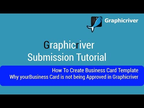 How To Create Business Card Template | Why your Business Card is not being Approved in Graphicriver