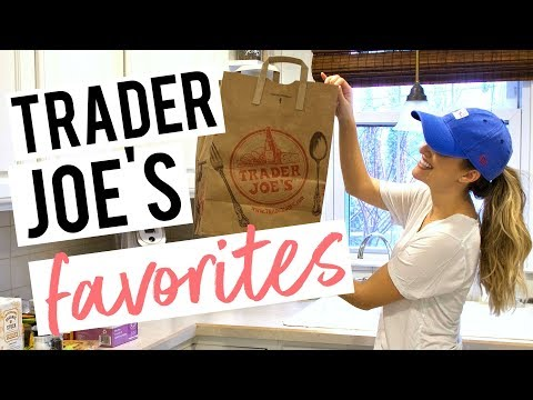 CURRENT FAVORITES FROM TRADER JOE'S!