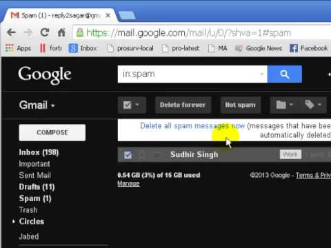 How to not mark mail as spam in gmail