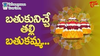 Bathukamma Is The Life Giver