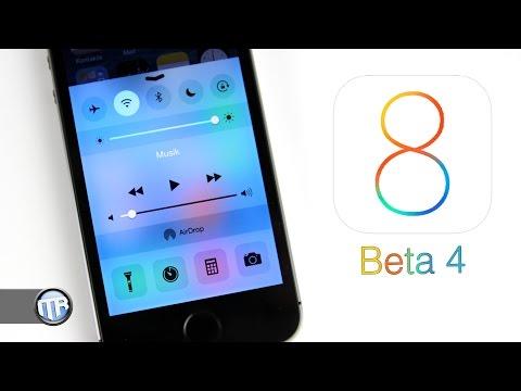 Preview: iOS 8 Beta 4 - Die Neuerungen [Deutsch/German]