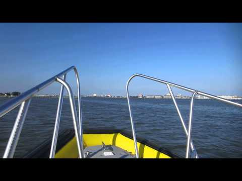 Ocean City Maryland boating on Sinepuxent Bay